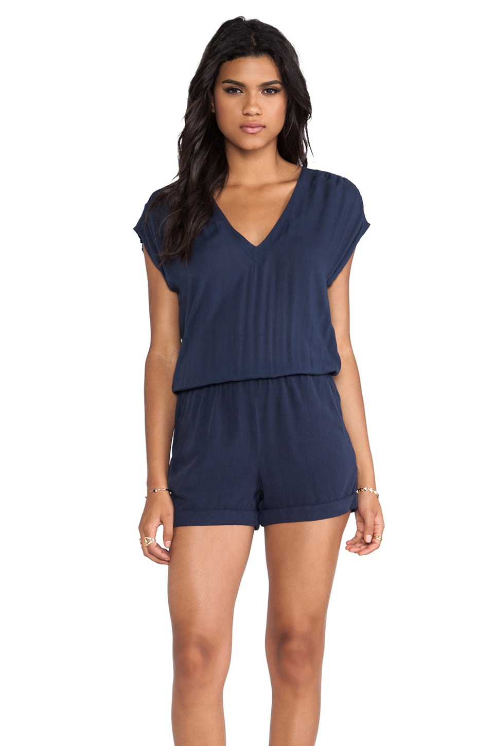 Splendid Romper in Navy