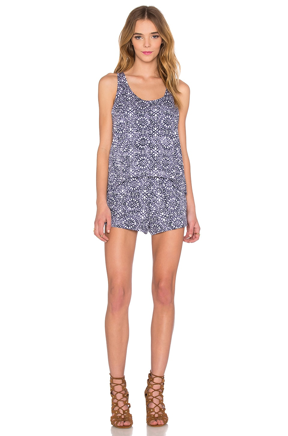Circle Trellis Romper by Splendid