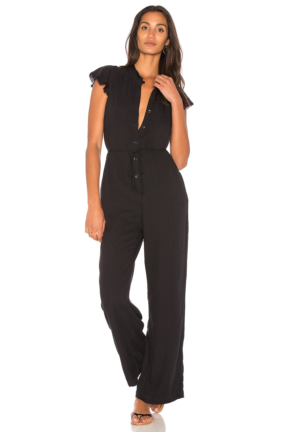 Ruffle Jumpsuit by Splendid