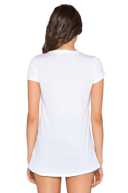 Splendid Very Light Jersey Tee in White