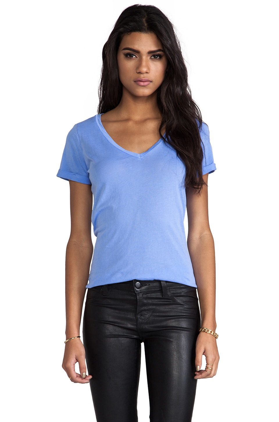 Splendid Vintage Whisper Tee in Blue Reef