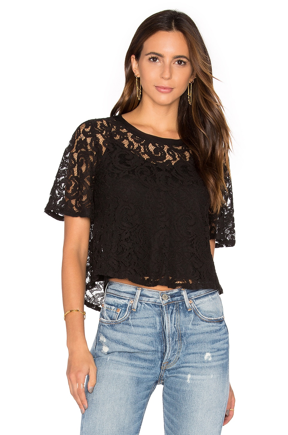 Lace Crop Top by Splendid
