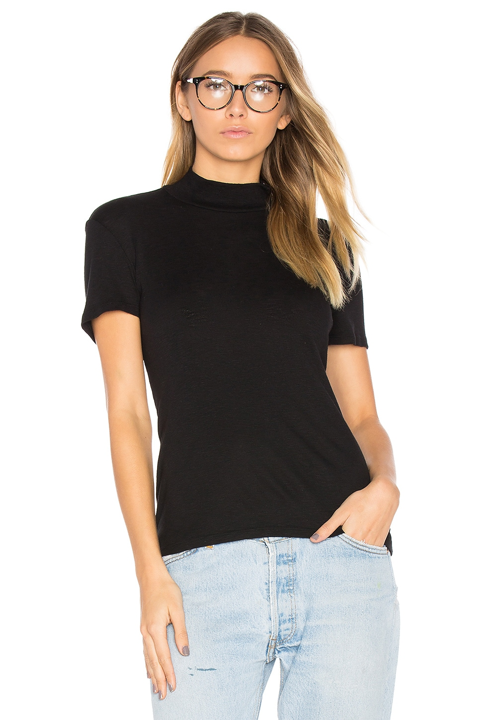 1 X 1 Mock Neck Top by Splendid