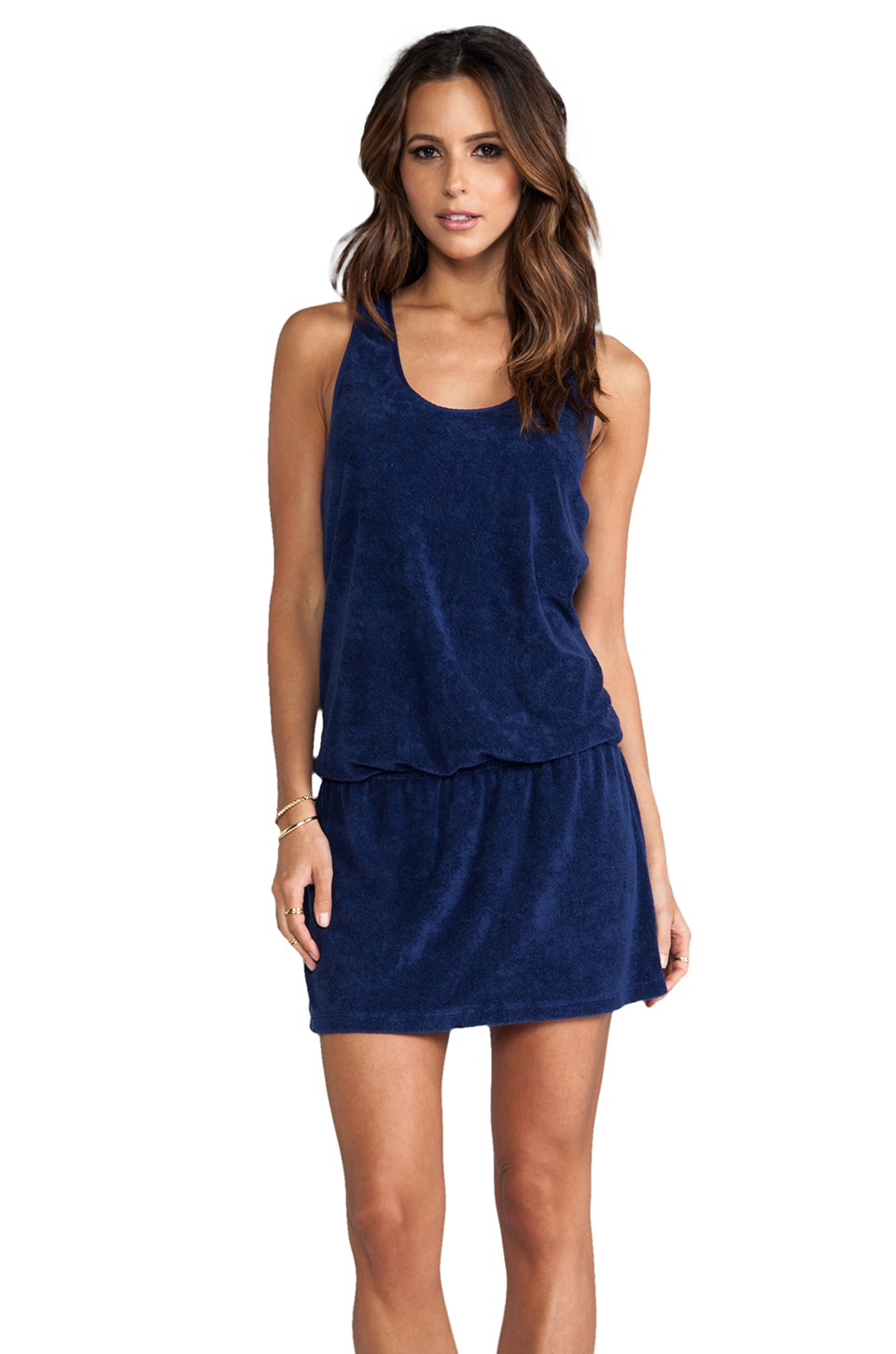 Splendid Terry Cover up in Navy