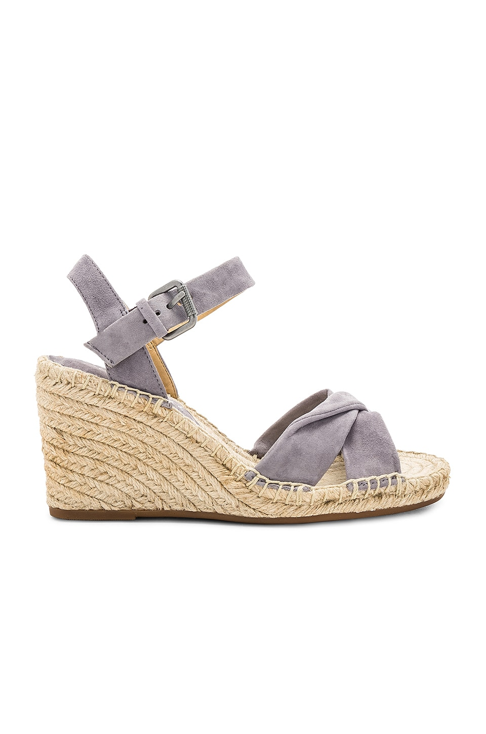 75ee80d14a3f Splendid Fairfax Espadrille Wedge Sandal In Gray