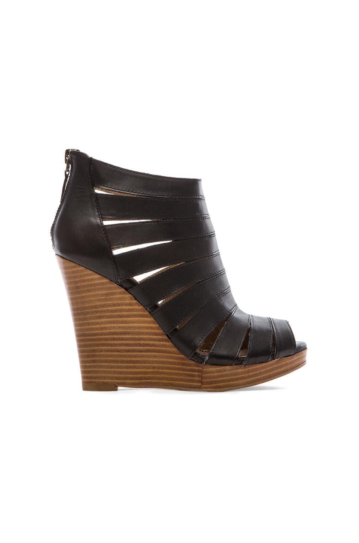 Splendid Bailey Wedged Sandals in Black