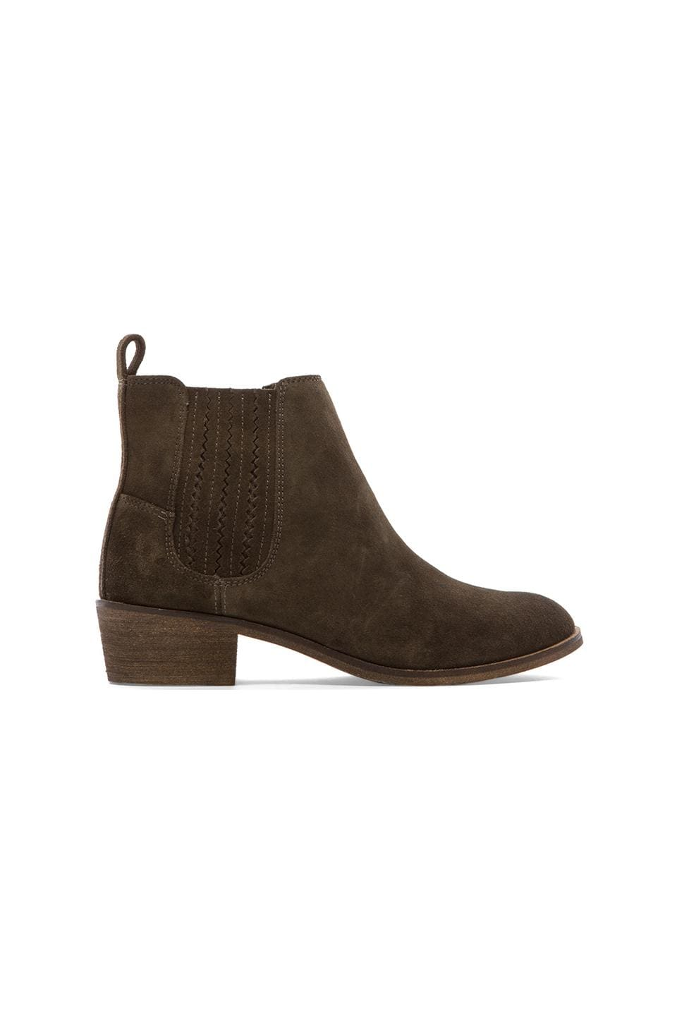 Splendid Harrison Booties in Smoke
