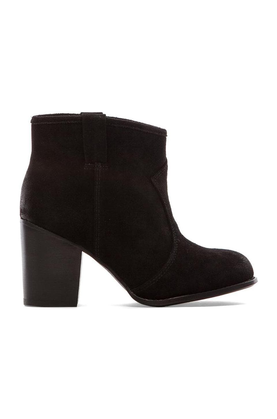 Splendid Lakota Heeled Booties in Black