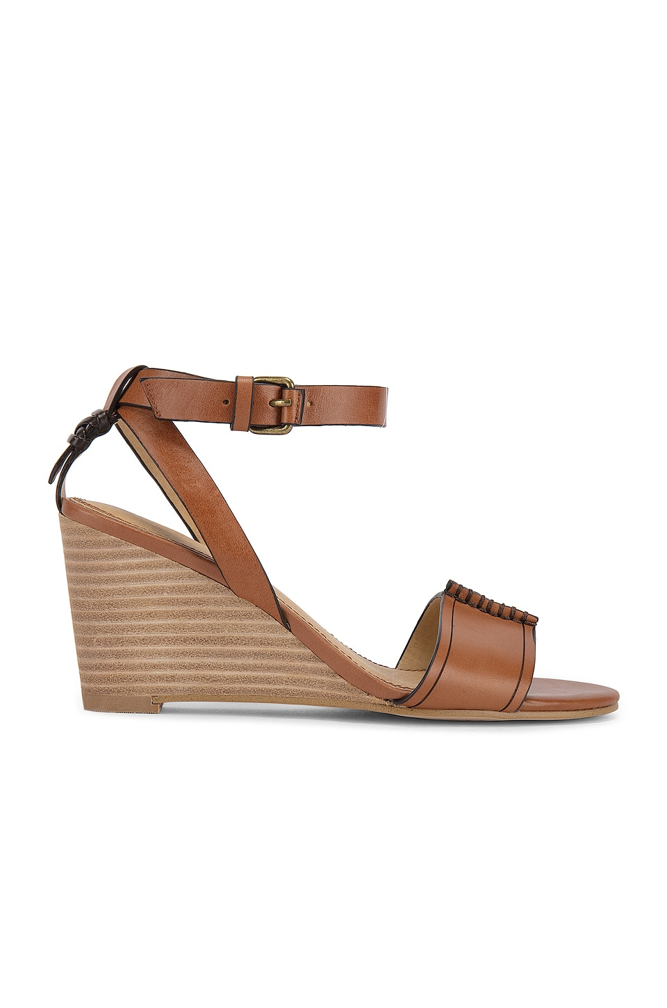 Splendid Tadeo Wedge in Brick
