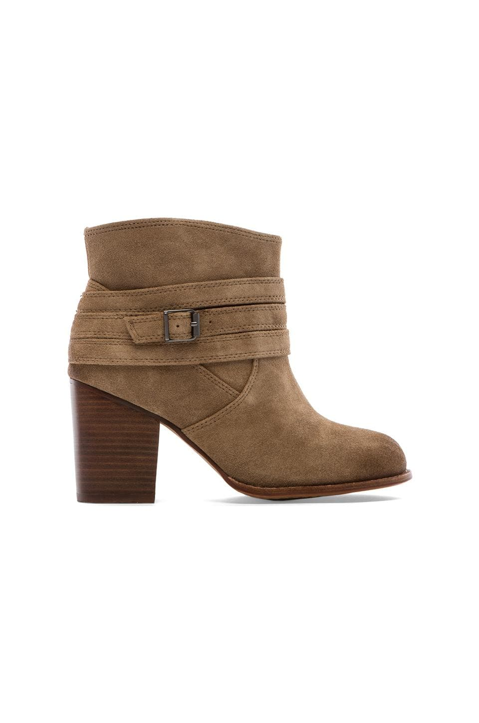 Splendid Laventa Booties in Latte
