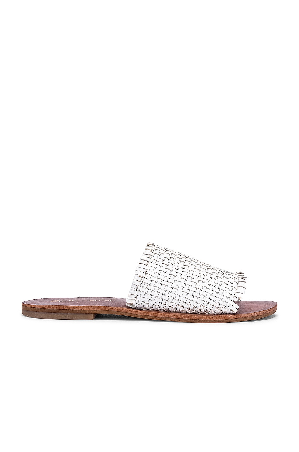 Splendid Truth Sandal in White