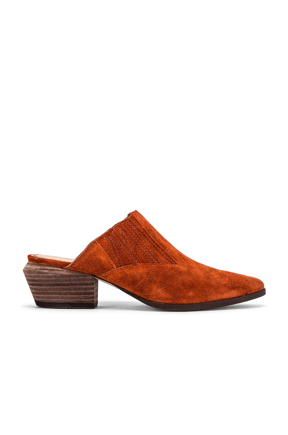 Splendid Hailee Mule in Burnt Umber