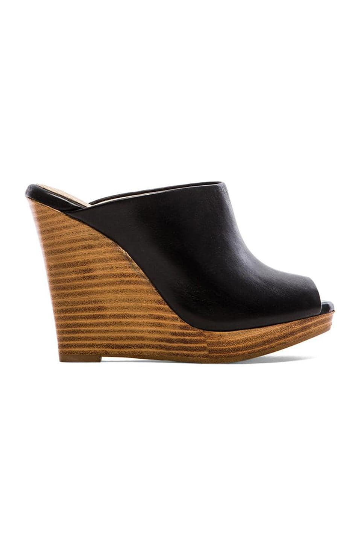 Splendid Brooklin Wedge Sandal in Black