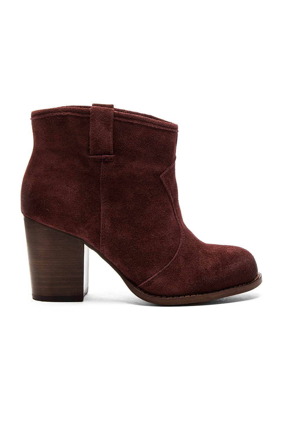 Splendid Lakota Bootie in Dark Wine