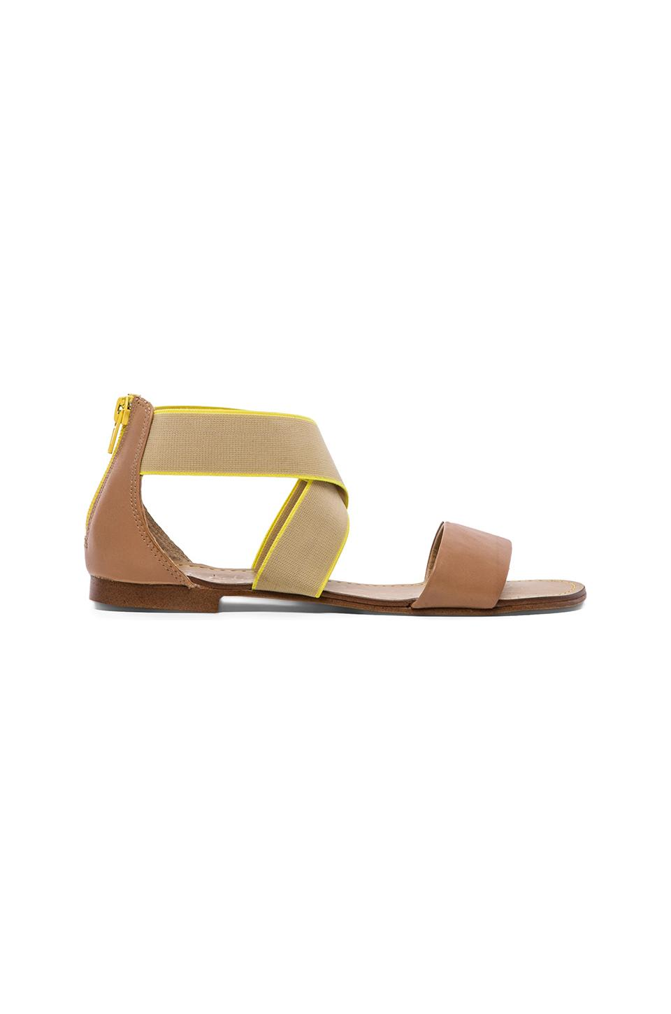Splendid Congo Flat Sandals in Light Tan