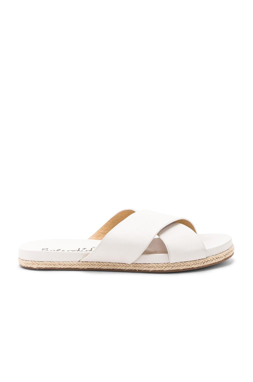 Splendid Jenni Sandal in White