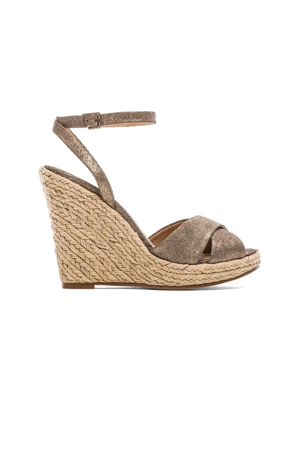Splendid Benton Wedge Sandal in Champagne