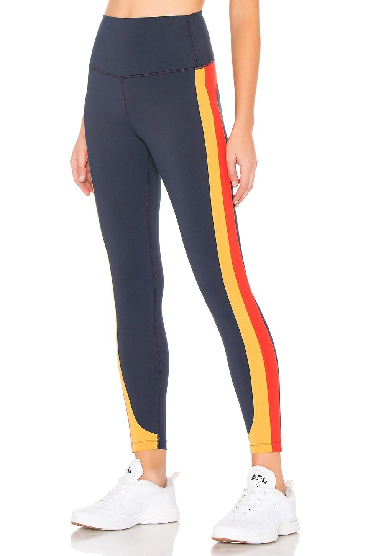 Splits59 Freestyle High Waist Legging in Indigo & Marigold & Sunset