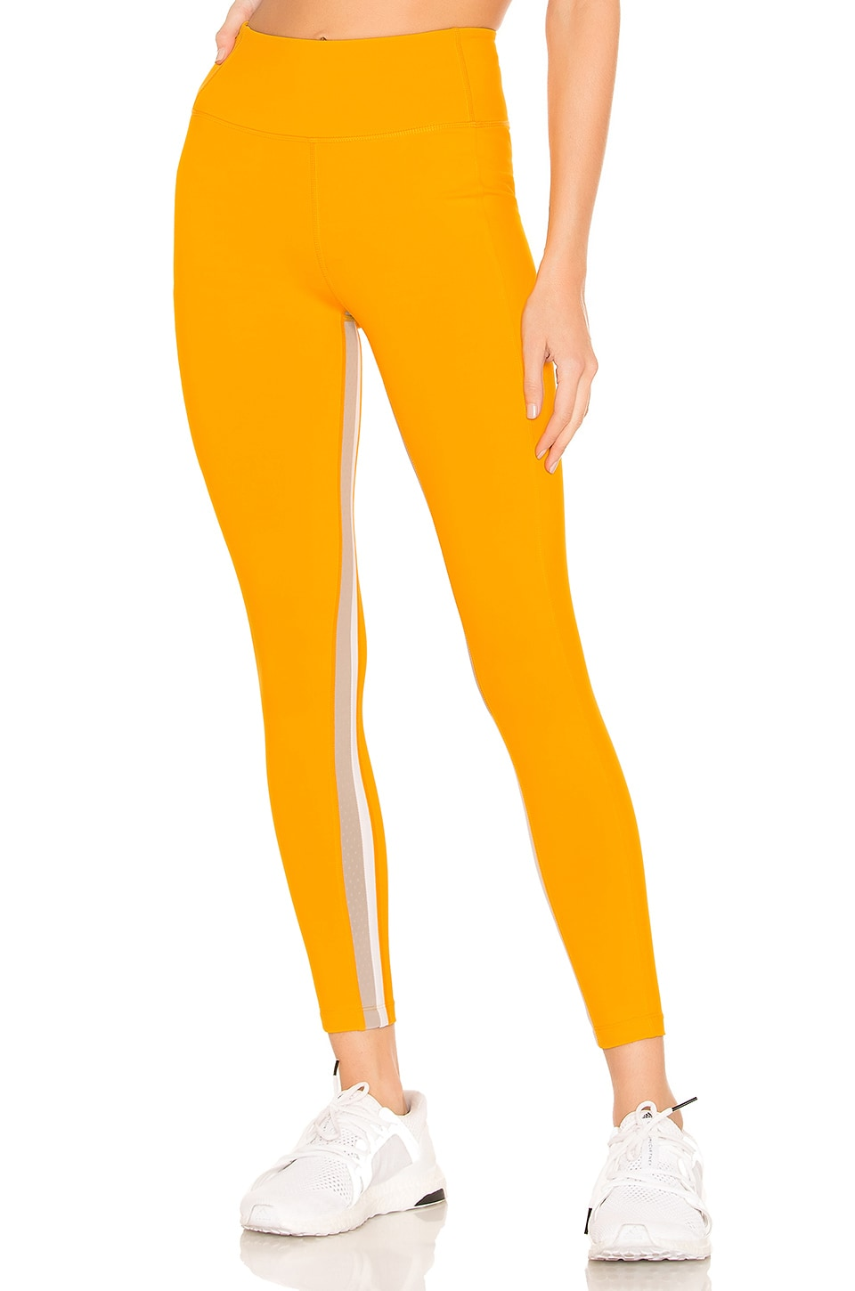 Splits59 Aerial 7/8 Tight in Bright Orange, Stone & Off White