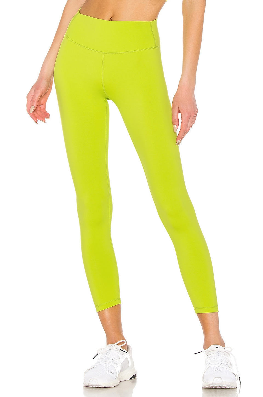 Splits59 Kinney High Waist Tight in Neon Green