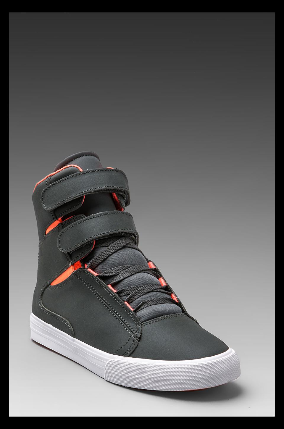 Supra Society in Charcoal