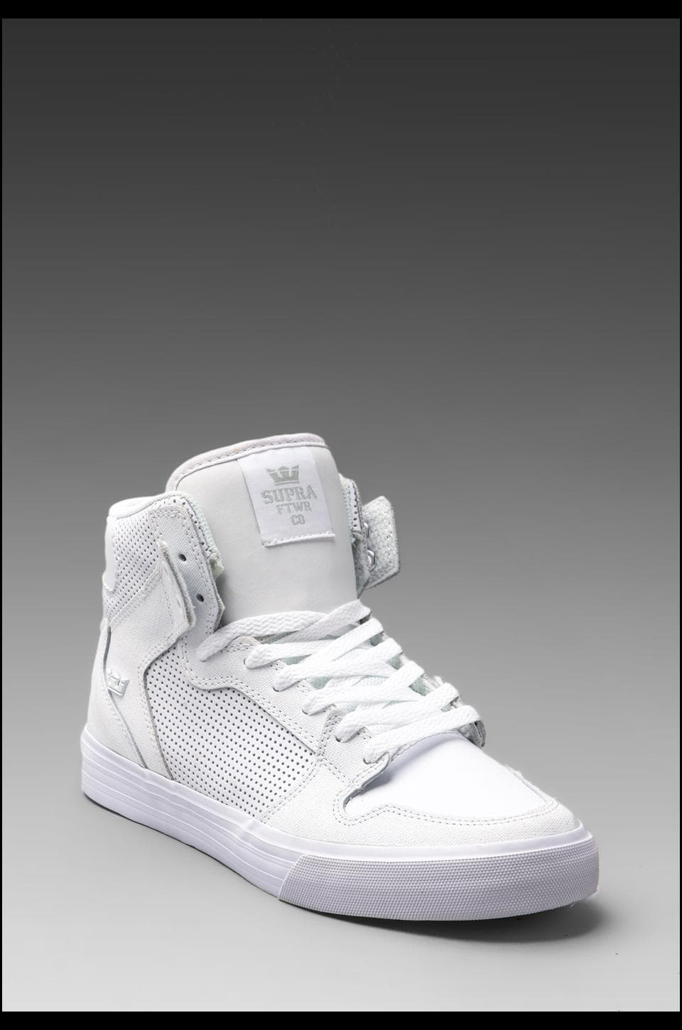 Supra Vaider Microperf in White