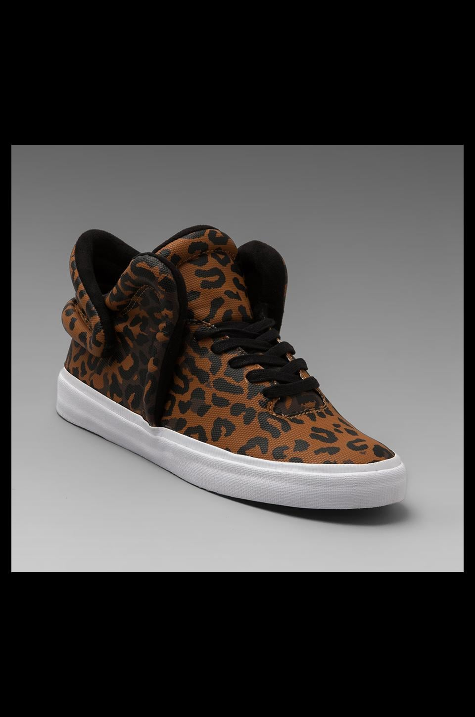Supra Falcon in Cheetah/White