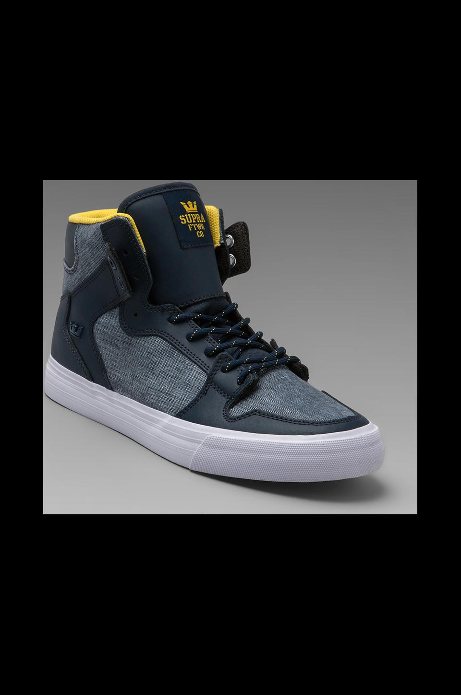 Supra Vaider Sneaker in Navy