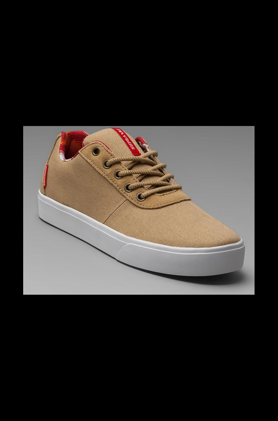 Supra Strike Sneaker in Tan