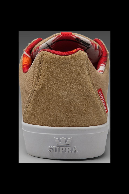 Supra Strike Sneaker in Tan