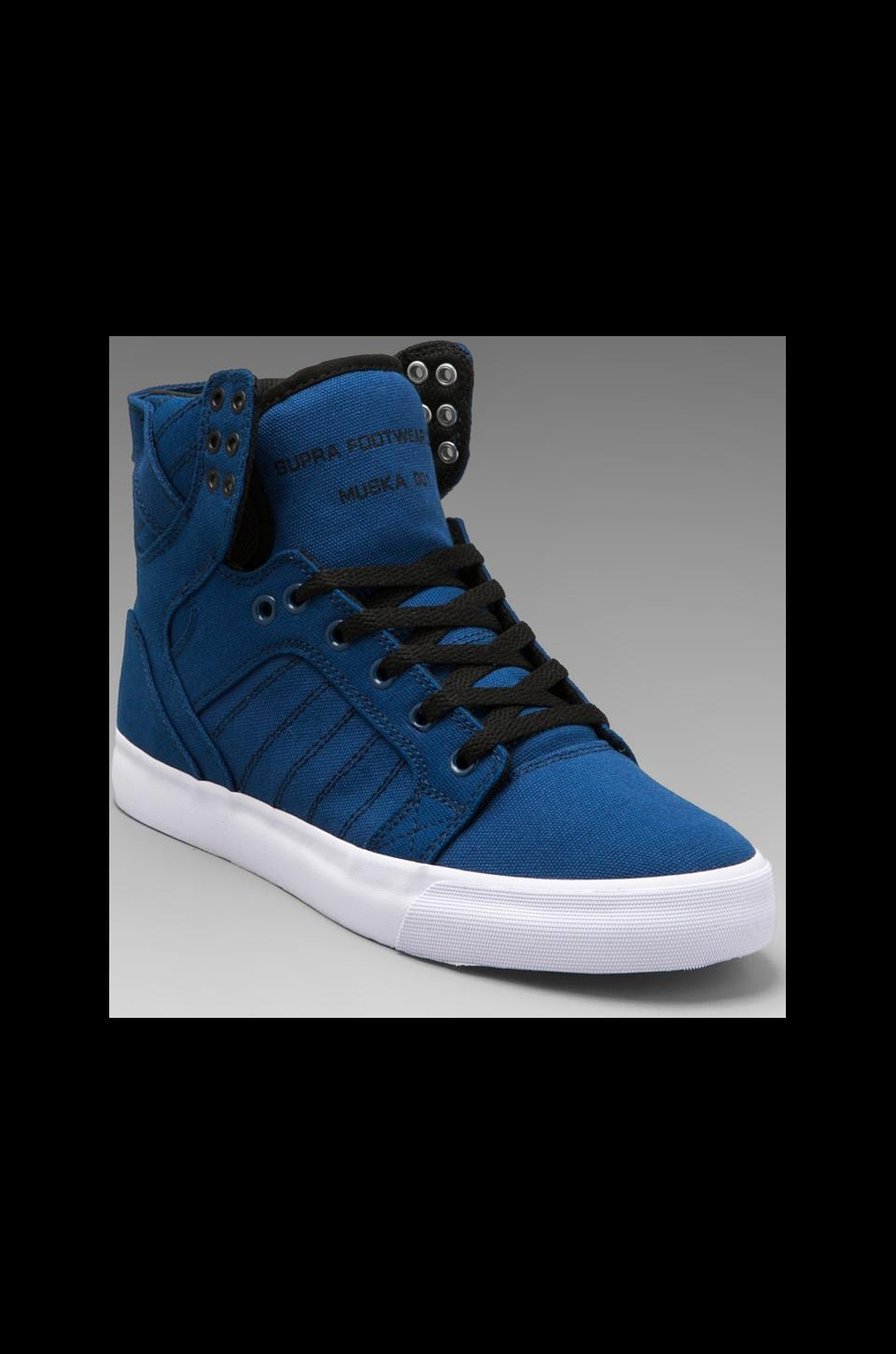 Supra Skytop in Navy/Black