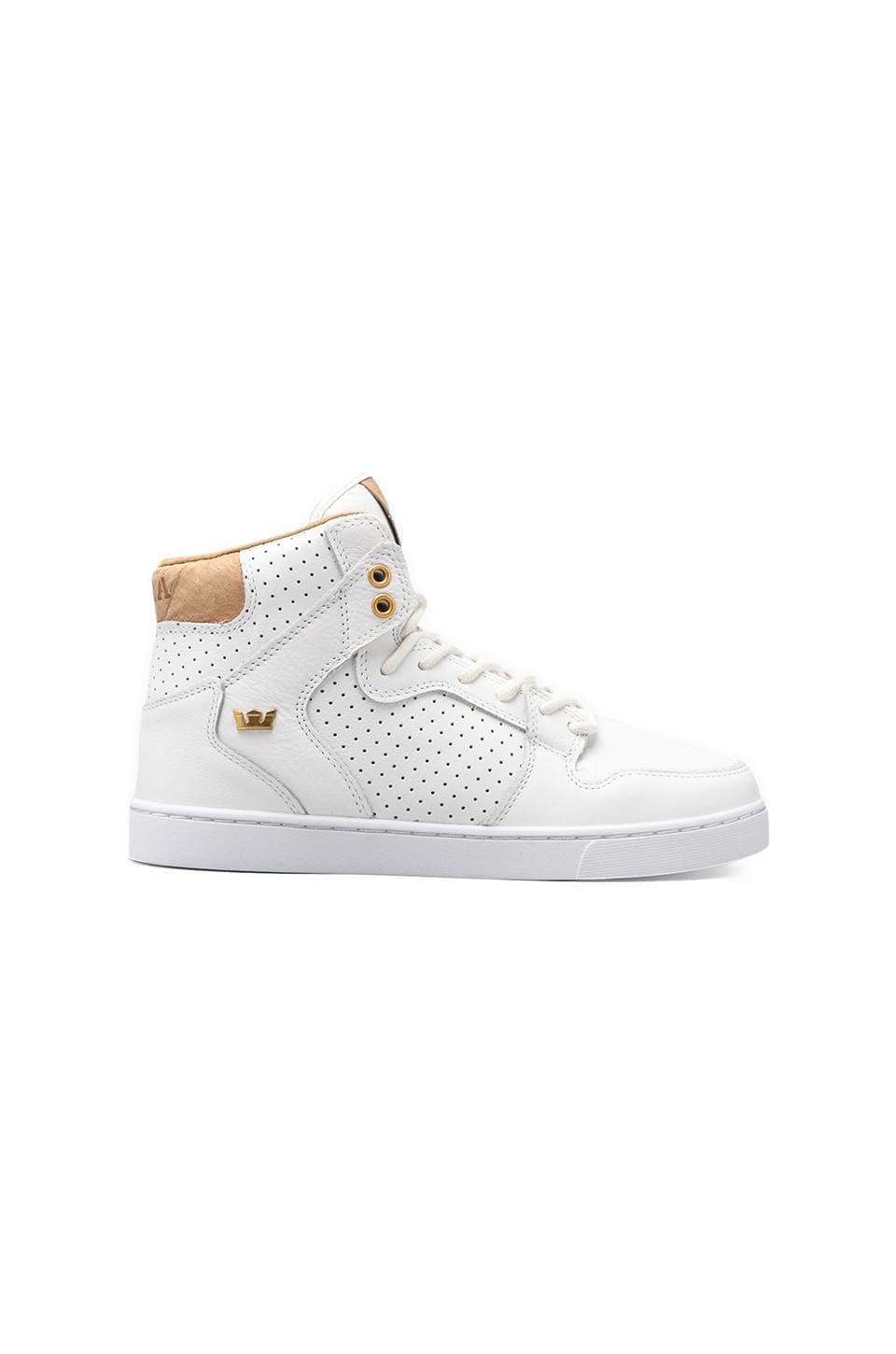 Supra Vaider LX Leather in White