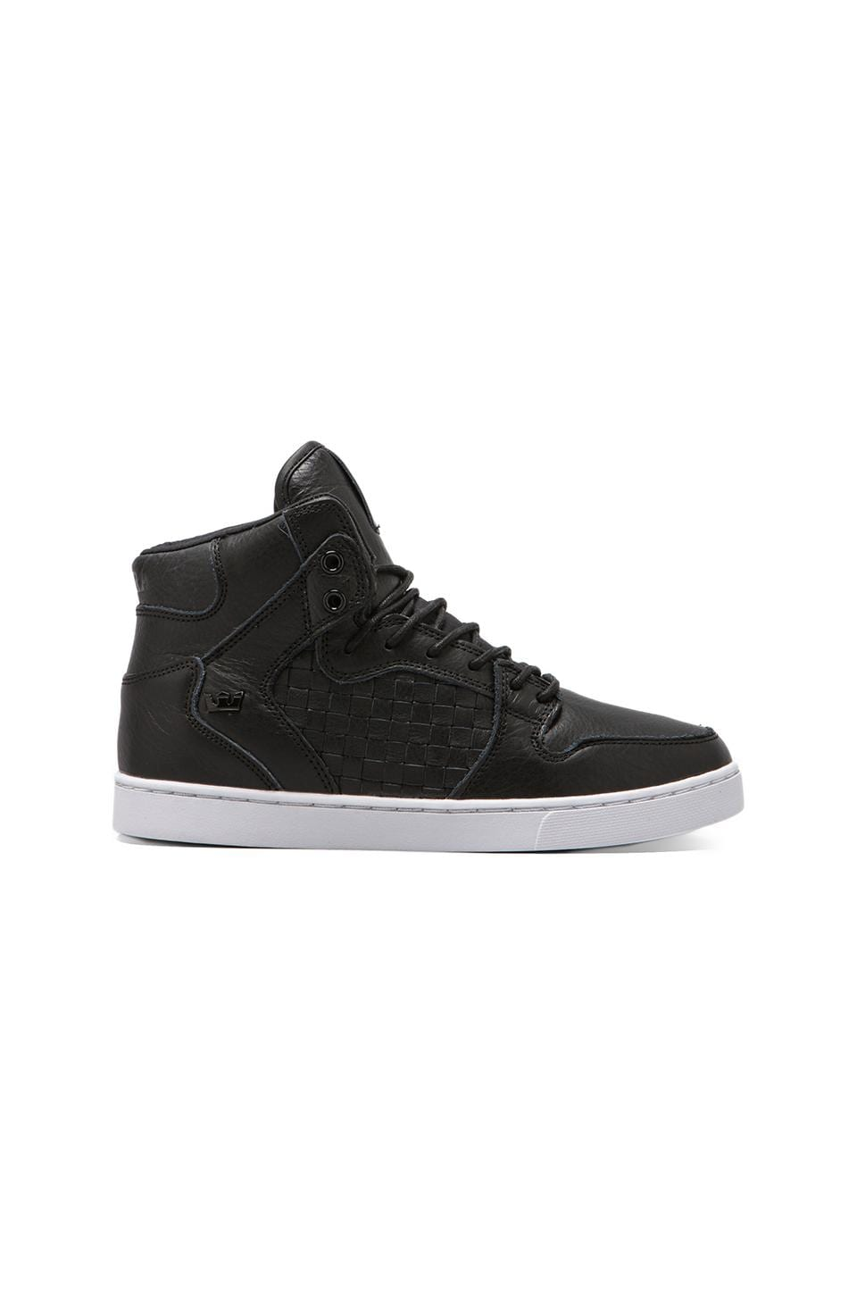 Supra Vaider LX Woven Leather in Black