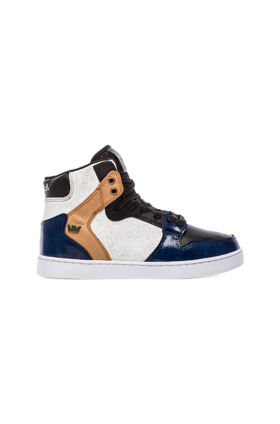 Supra Vaider LX in Royal & White