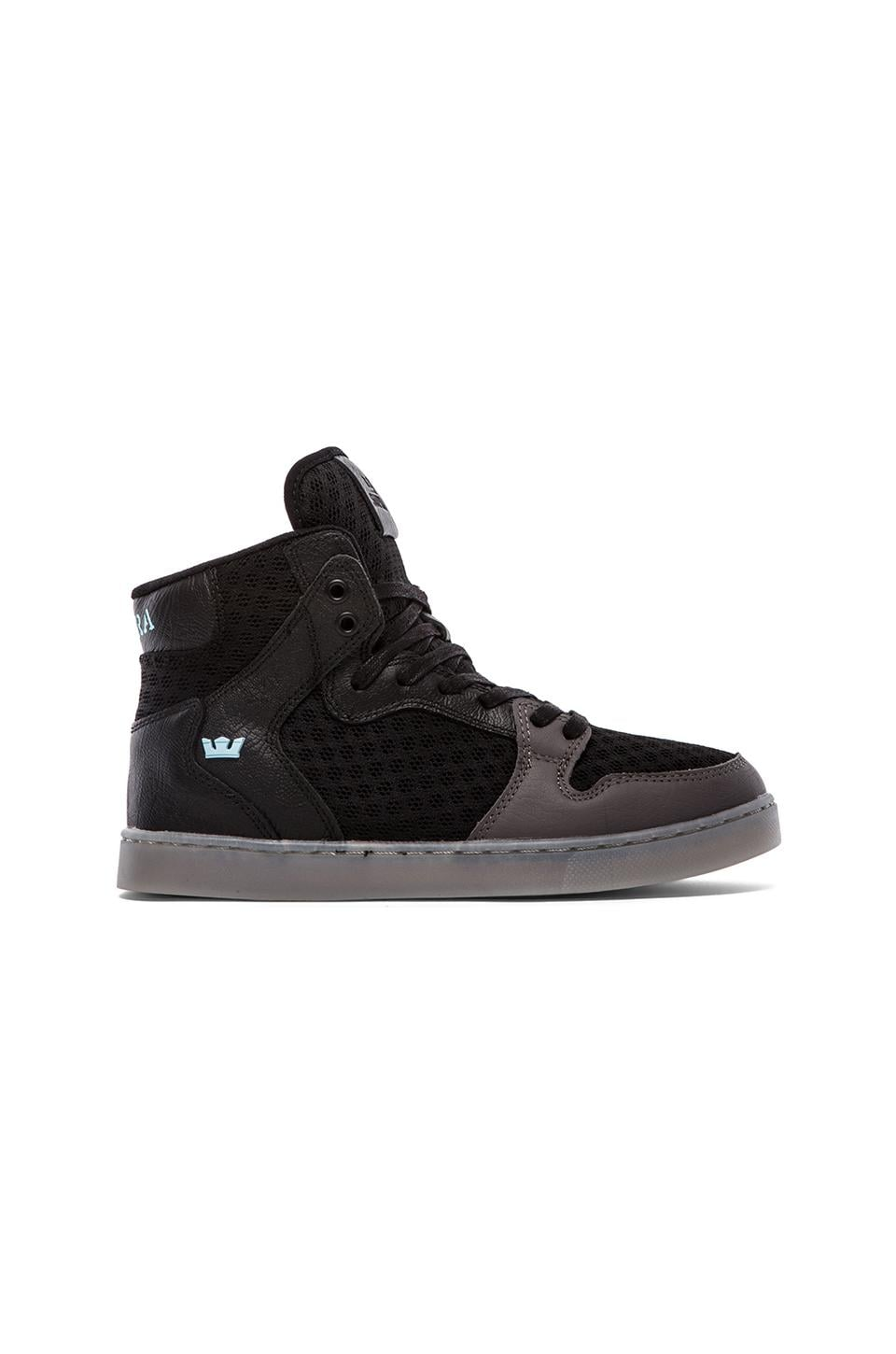 Supra Vaider LX in Black & Grey