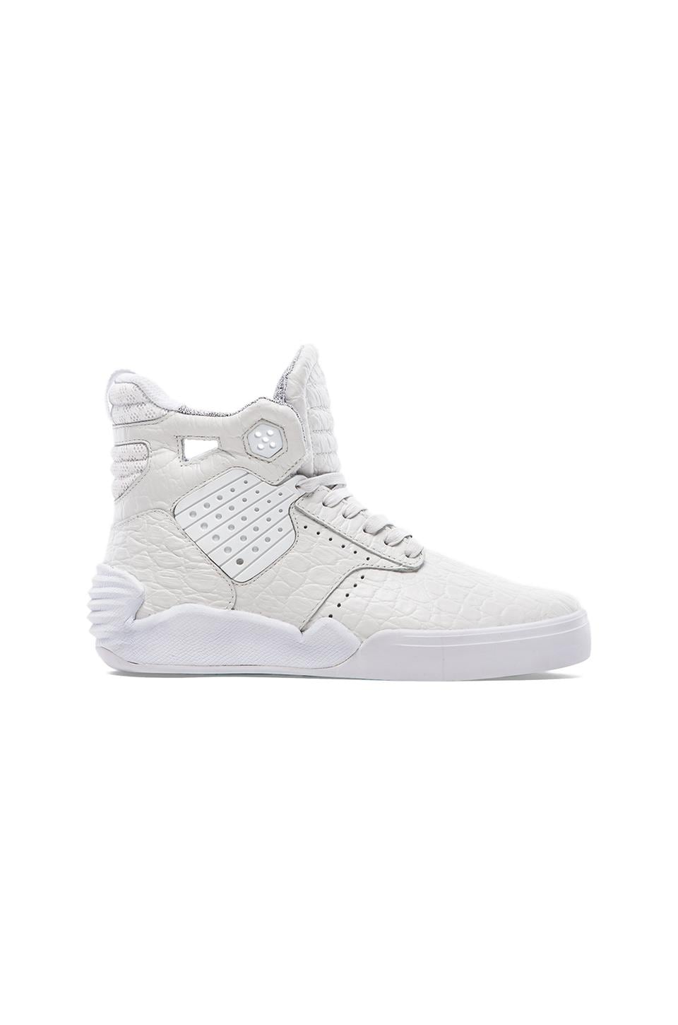 Supra Skytop IV in White