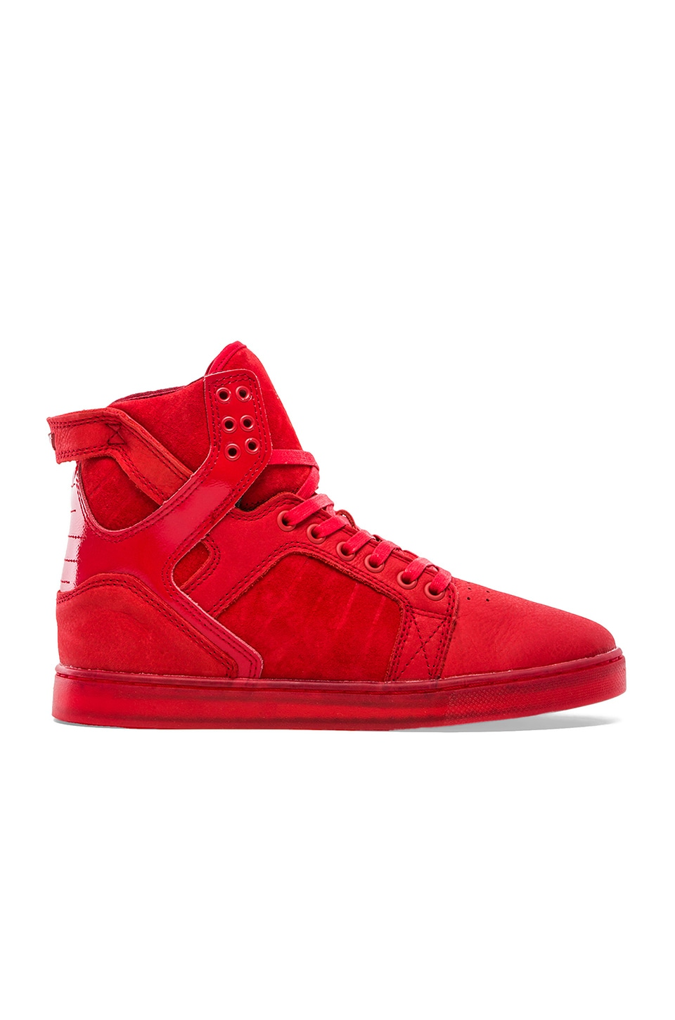 Supra Skytop LX in Red