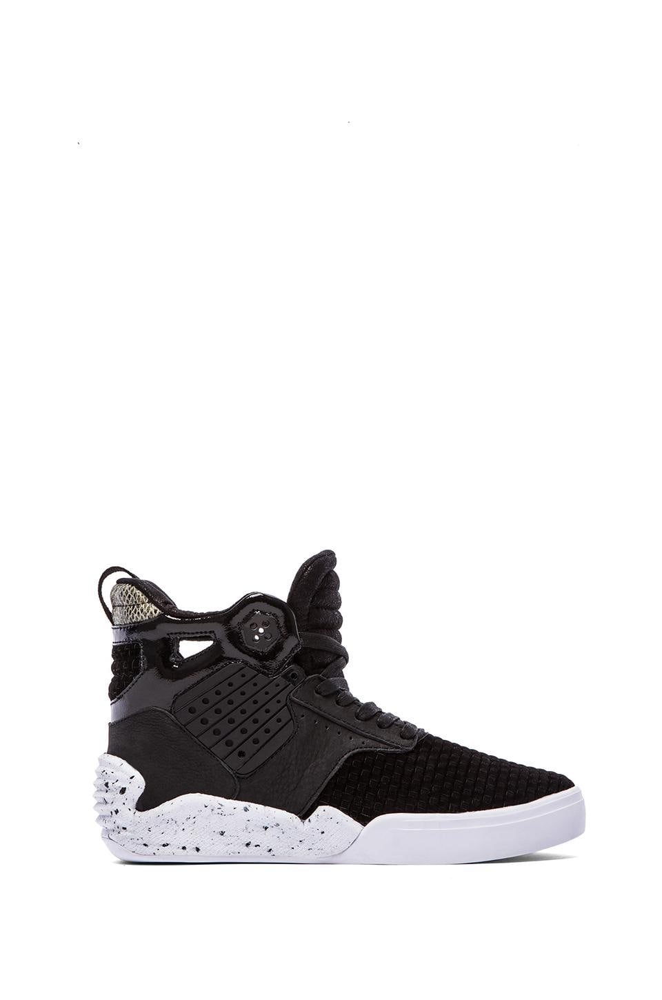 Supra Skytop IV in Black & White