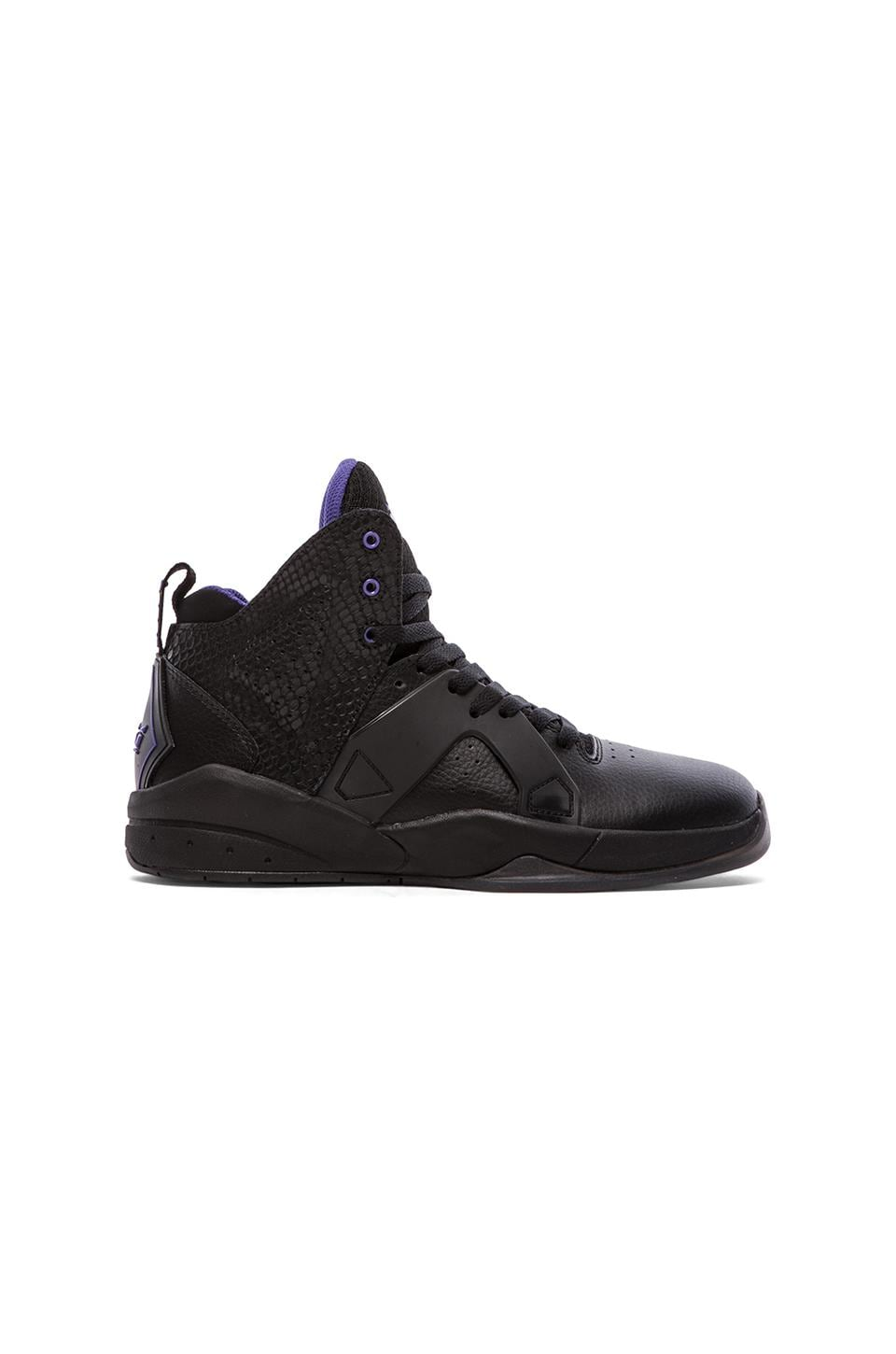 Supra Magazine in Black/Black