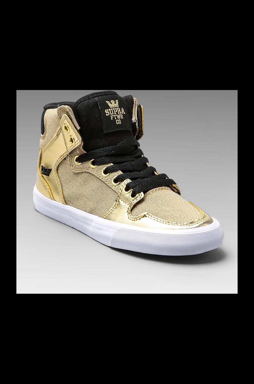 Supra Vaider Sneaker in Gold