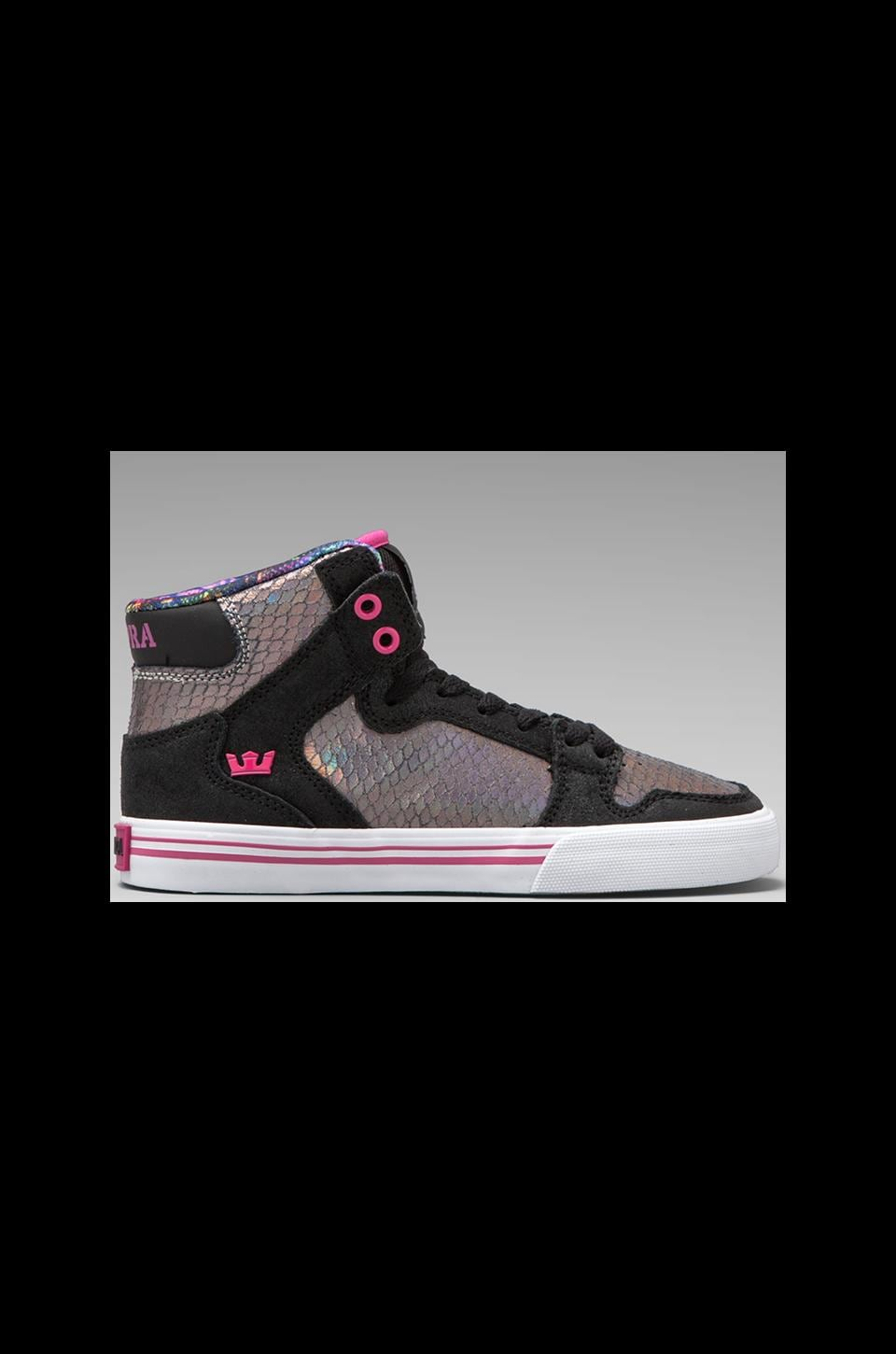 Supra Vaider Sneaker in Black/Multi