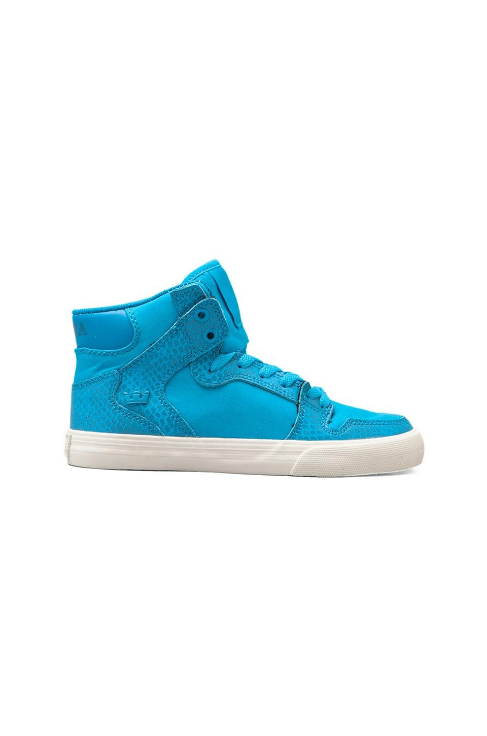Supra Vaider Sneaker in Turquoise