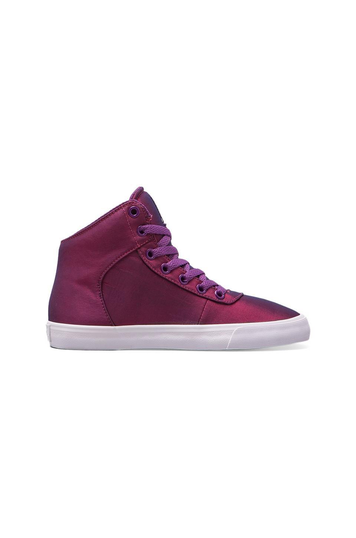 Supra Cuttler Sneaker in Iridescent Purple