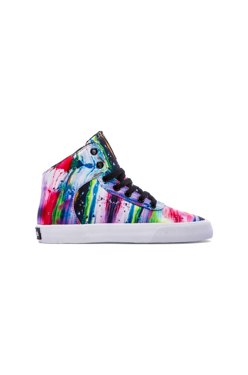 Supra Cuttler Sneaker in Melted Rainbow