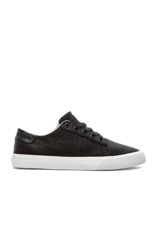 Supra Belmont Sneaker in Black