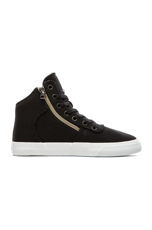 Supra Cuttler Sneaker in Black