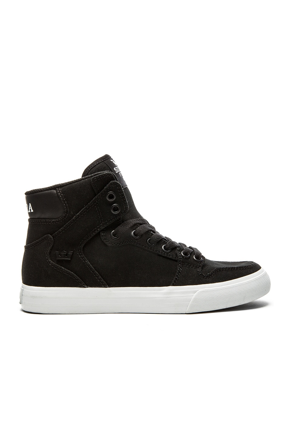 Supra Vaider Sneaker in Black
