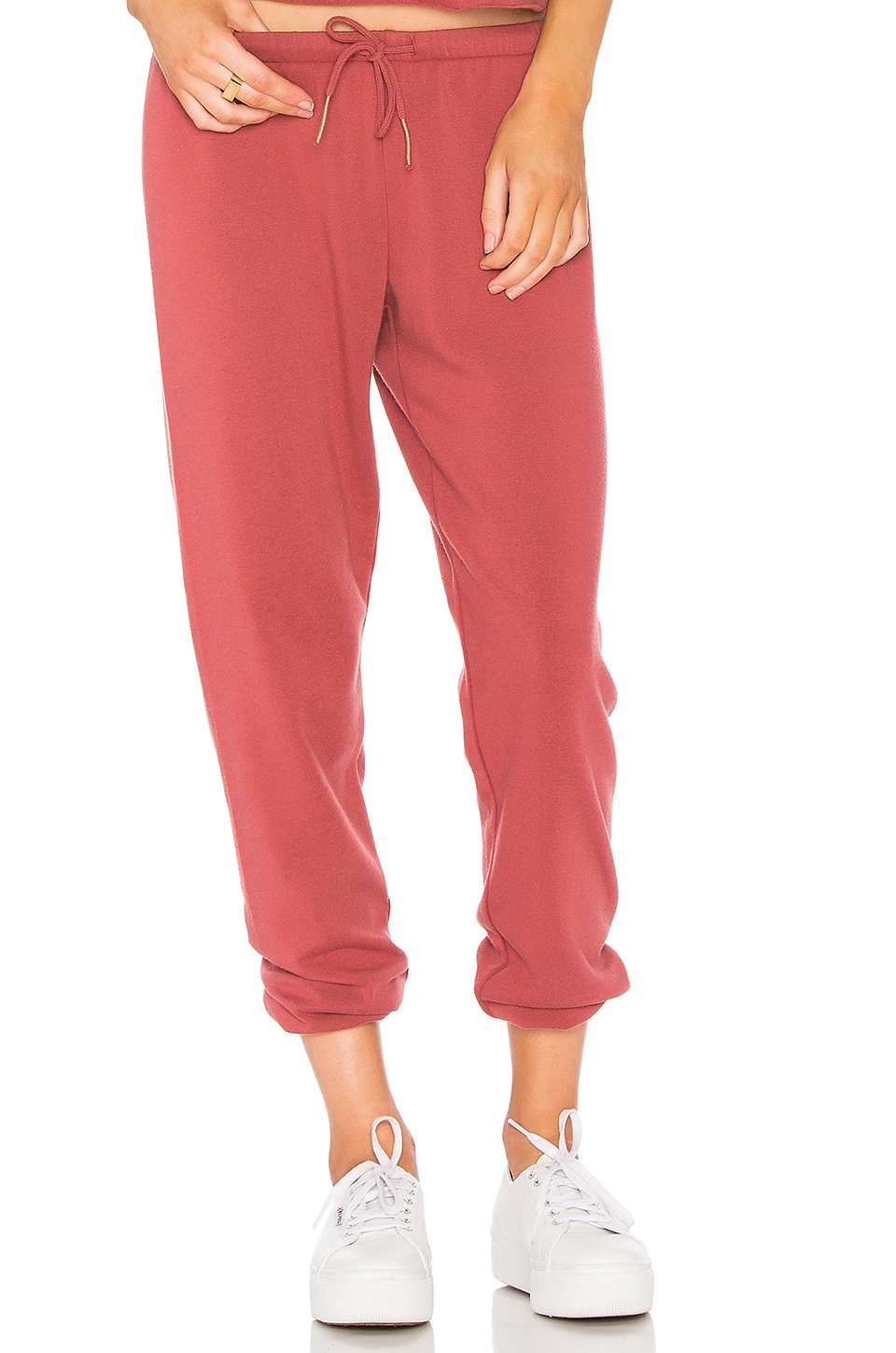 Heart Embroidery Favorite Sweatpant
