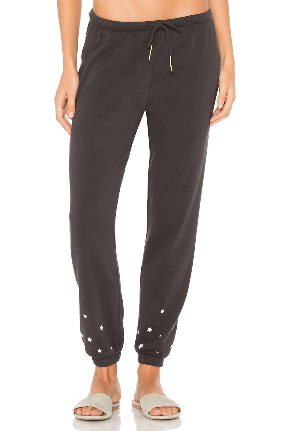 Spiritual Gangster Mini Stars Favorite Sweatpant in Vintage Black