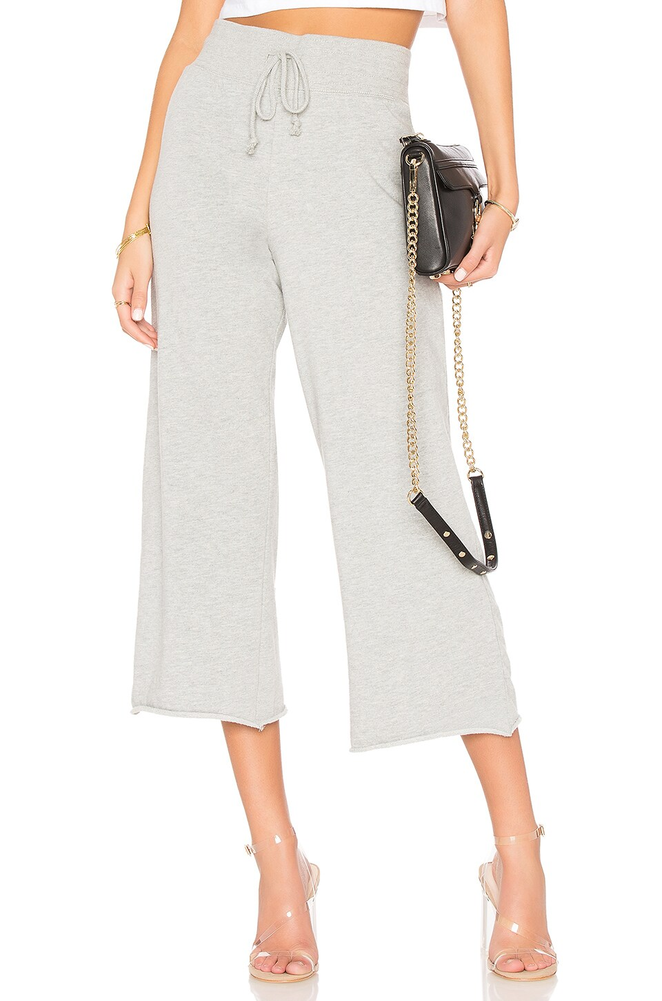 Hear Peace Crop Wide Leg Pant